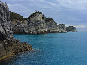 Around the three islands, Palmaria Island, Porto Venere